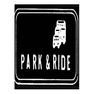 PARK AND RIDE POSTCARD