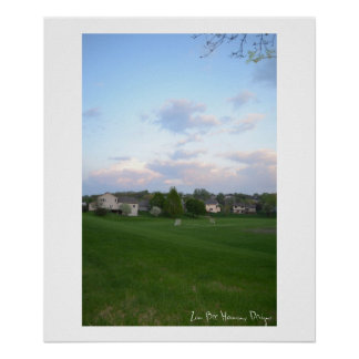 Park and Sky Poster