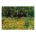 Park at Asnieres in Spring Vincent van Gogh 1887 Cards
