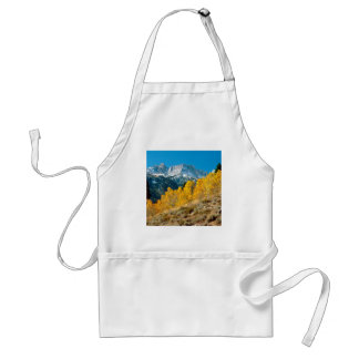 Park Autumn At Matterhorn Peak Sawtooth Adult Apron