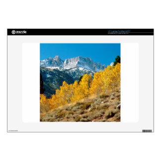 "Park Autumn At Matterhorn Peak Sawtooth Decals For 15"" Laptops"