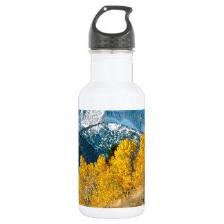 Park Autumn At Matterhorn Peak Sawtooth Water Bottle