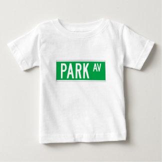 Park Av., New York Street Sign Baby T-Shirt