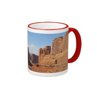 Park Ave - Arches National Park Ringer Mug