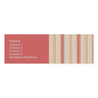 Park Ave. Double-Sided Mini Business Cards (Pack Of 20)