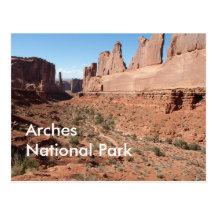 Park Avenue, Arches National Park Postcards