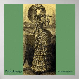 """Park Avenue"" by Susan Bergstrom Poster"