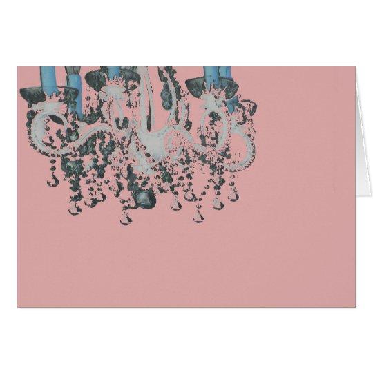 Park Avenue Chandelier ~ Card / Invitations