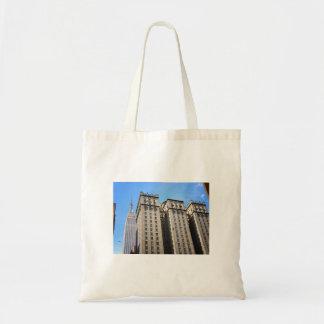 Park Avenue Skyscraper and Birds, New York City Bag