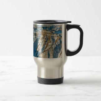 Park Badlands In Winter Dakota Mug