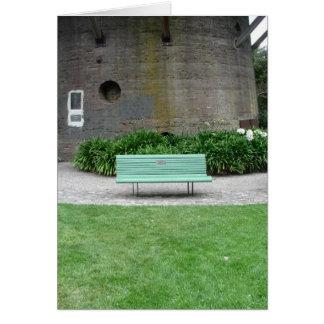 Park Bench Blank Card