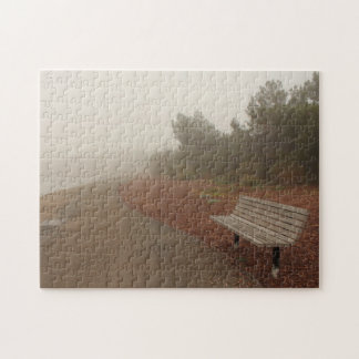Park Bench in the Fog Puzzle