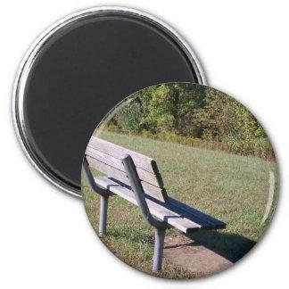 Park Bench Magnet