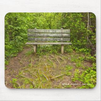 Park Bench Mouse Pad