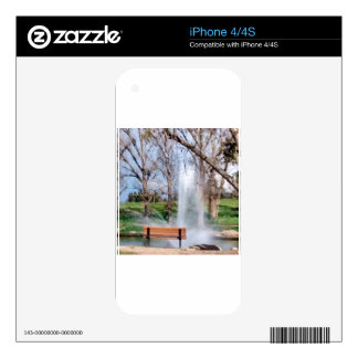 Park Bench Skins For iPhone 4S