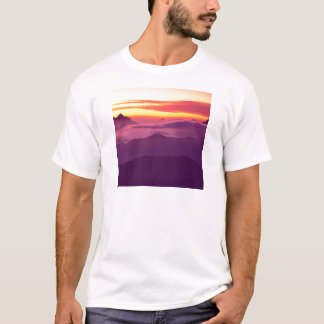 Park Cascades At Sunset T-Shirt