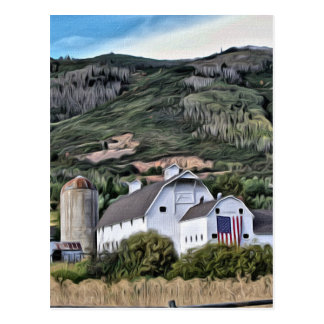 Park City Barn Postcard