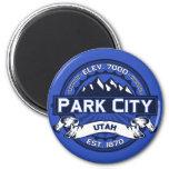 Park City Color Logo Magnet Refrigerator Magnet