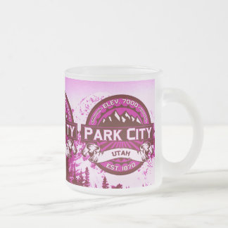 Park City Color Logo Raspberry Mug