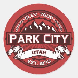 Park City Color Logo Sticker