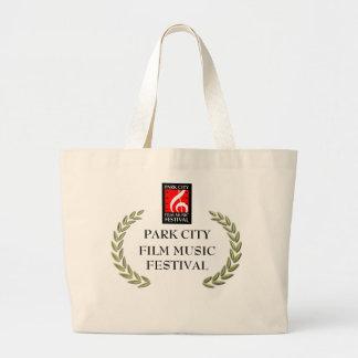 Park City Film Music Festival Gear Large Tote Bag