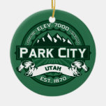 Park City Forest Ornaments