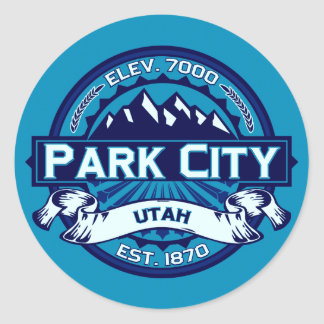 Park City Ice Stickers