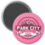 Park City Logo Honeysuckle Refrigerator Magnet
