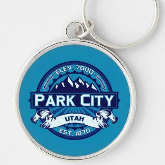 Park City Logo Ice Keychain