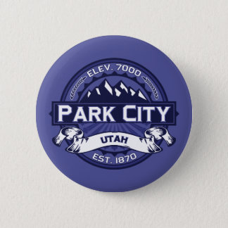 Park City Logo Midnight Button