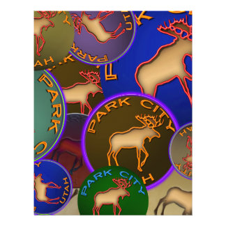 Park City Moose Medallions Personalized Flyer