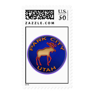 Park City Moose Postage