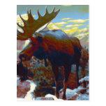 Park City Moose Souvenir Card