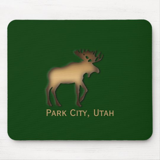 Park City Moose Souvenir Mousepad