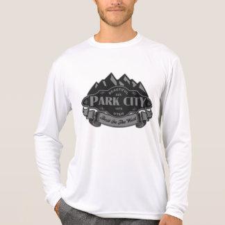 Park City Mountain Emblem Silver Tshirt