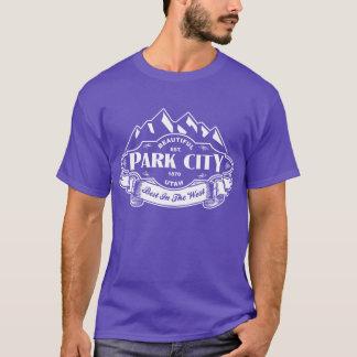 Park City Mountain Emblem White T-Shirt