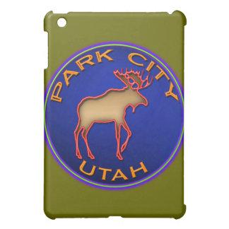 Park City Neon Moose Sign iPad Case