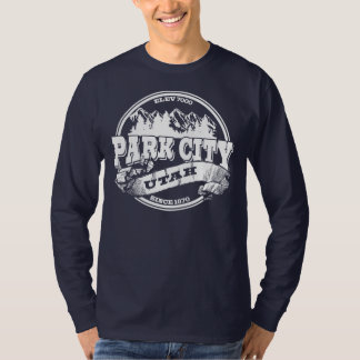 Park City Old Circle White T-Shirt