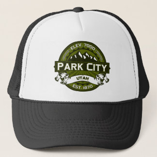 Park City Olive Trucker Hat