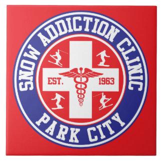 Park City Snow Addiction Clinic Tile