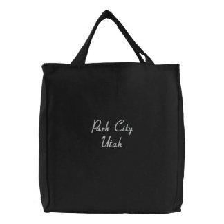 Park City Utah Emboidered Bag