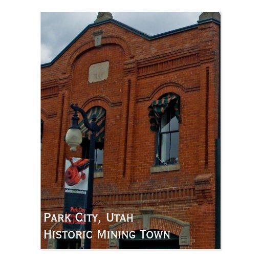 Park city utah souvenier postcard zazzle for Cabine a park city utah