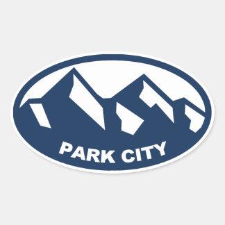 Park City Utah Stickers