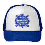 Park City Utah winter snowflake hat