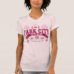 Park City Vintage Cranberry Tee Shirt