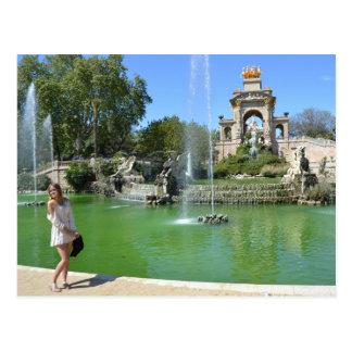 Park Ciutadella, Barcelona Postcard
