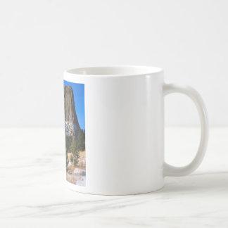 Park Devils Tower Monument Wyoming Classic White Coffee Mug