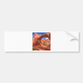 Park Double O Arch Arches Utah Car Bumper Sticker