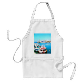 Park for the next goal and success crete island adult apron