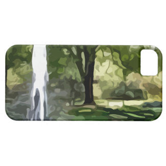 park fountain painting iPhone SE/5/5s case